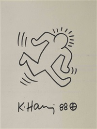 running man by keith haring