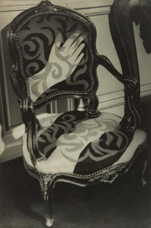 gertrude steins chair by brassaï