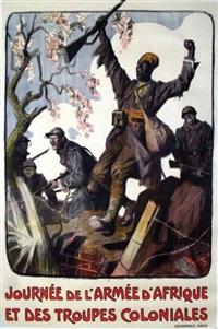 journée de l'armée d'afrique et des troupes coloniales devambez paris by lucien-hector jonas