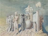 composition surréaliste by zygmunt dobrzycki