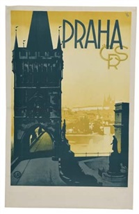praha by posters: decorative