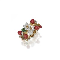 a strawberry bracelet by donald clafin