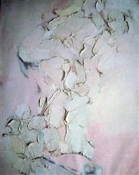 grand nu rose et blanc by rene leidner