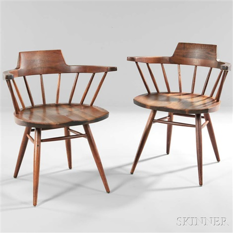 Captainu0027s Chairs By George Nakashima