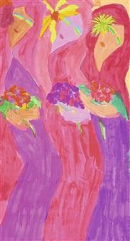 three women by walasse ting