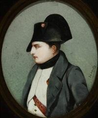 miniature portrait of napoleon by jean baptiste jacques augustin