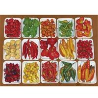 sunlight and peppers by eduardo bortk
