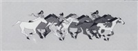 untitled (running horses) by jerry ingram