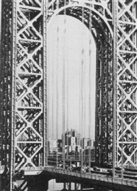 george washington bridge by harold corsini