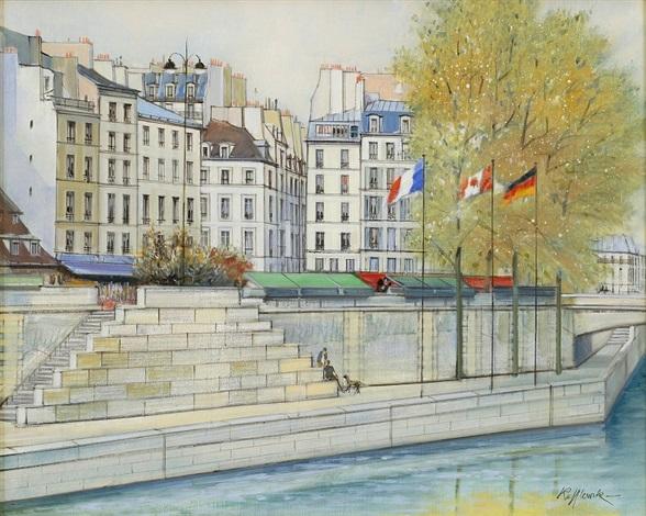 le petit pont by h rolf rafflewski