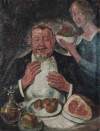 le repas festif by theodore verschaeren