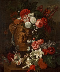 still life with flowers by pieter casteels iii