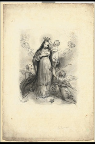 the coronation of the virgin by nicolas françois octave tassaert