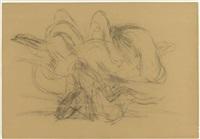 skizze zur skulptur laokoon by michael croissant
