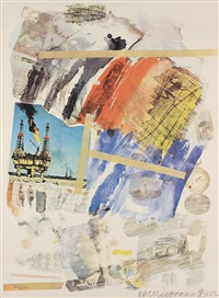 untitled (from horchow portfolio) by robert rauschenberg