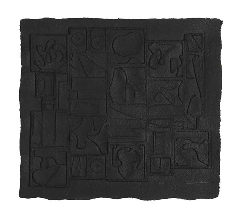 nightscape by louise nevelson