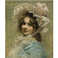 the pink hat by edouard cabane