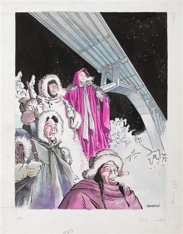 iberland (cover from album la nuit des anges) by franco saudelli