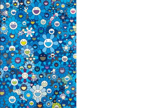 an homage to ikb 1957 by takashi murakami