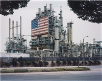 bp carson refinery, california (from the series american power) by mitch epstein