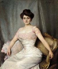 une femme élegante by anna (chataignier) cabibel