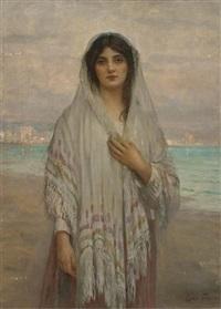 a chioggian girl by sir samuel luke fildes