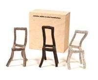 weiche stühle in drei hautfarben by annett janowiak and karin r'hila