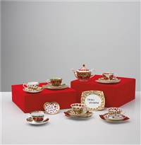the me that i adore (the grand set) (set of 20 works) by yayoi kusama