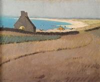 la plage de trévignon by jean-yves couliou