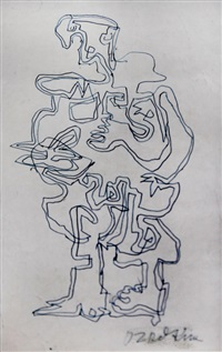 untitled by ossip zadkine