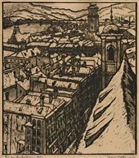 linz am landhausturm by hans kobinger