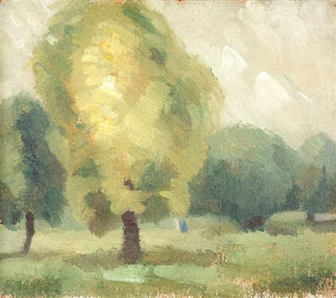 early landscape by godfrey clive miller