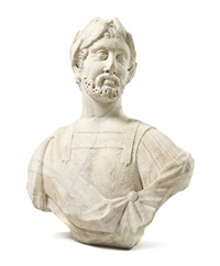 grand tour bust by antique