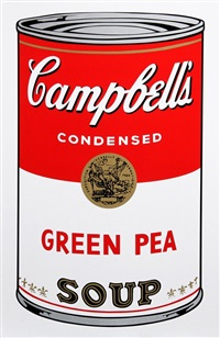 campbell's soup can by andy warhol
