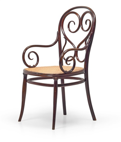 A Thonet Armchair No. 4 By Thonet