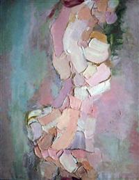 grand nu gris et rose by rene leidner