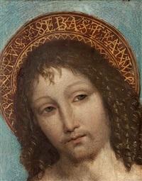 sankt sebastian by ambrogio borgognone