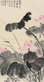 碧荷幽香 by he haixia