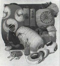 the lantern painter by thornton oakley