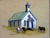 country church by robert wagoner