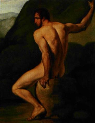 nudo (study) by pietro benvenuti