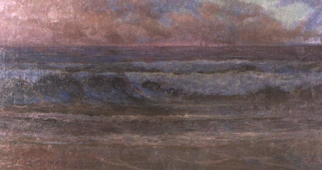 seascape at dusk by thomas (tom) humphrey