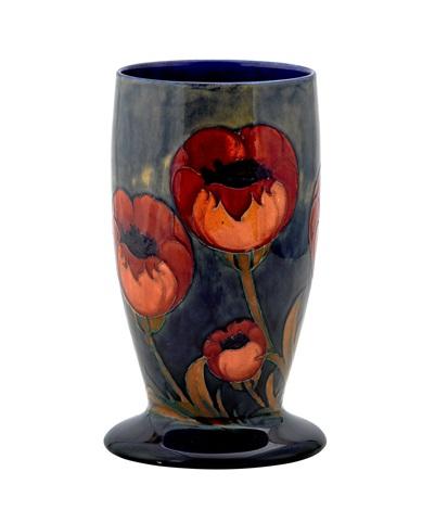 A Moorcroft Big Poppy Vase By Moorcroft On Artnet