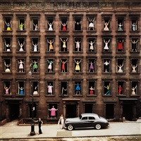 girls in windows, new york city by ormond gigli