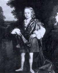 portrait of a young boy by herman verelst