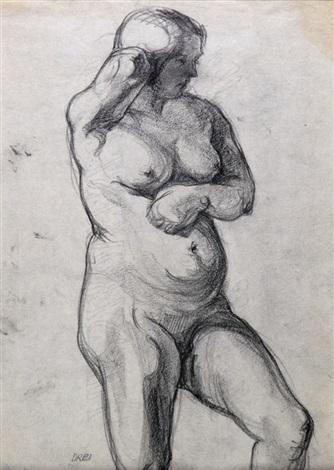 nudo di donna by ercole drei