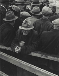 white angel breadline by dorothea lange