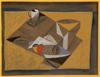 composition cubiste by aram (michael gottlieb)