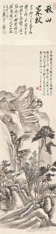 策杖访友 by huang binhong