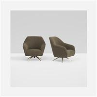 lounge chairs (pair) by osvaldo borsani